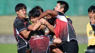 男子セブンズ日本代表候補、フルコンタクトでの試合形式練習を再開