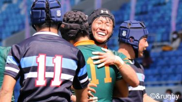 【写真】高校選抜ラグビー <準決勝>