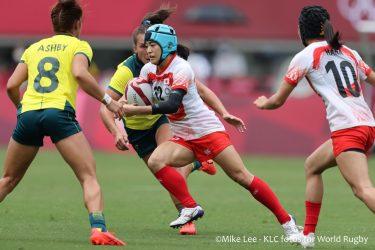 ラグビー女子の試合が始まる。初戦は苦しい8トライ差|東京2020オリンピック<ラグビー女子>